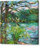 Riverview Spring Stage One Canvas Print