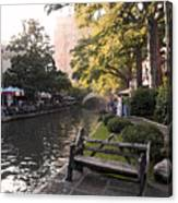 Riverwalk Iv Canvas Print