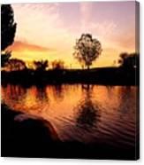 Riverwalk Sunrise  Canvas Print