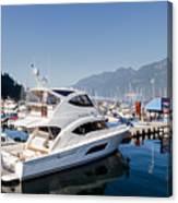 Riviera 53 Yacht Canvas Print