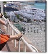 Riviera Breeze Canvas Print