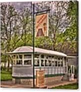 Riviera Roadhouse Restaurant Canvas Print