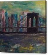 Road From Brooklyn Canvas Print