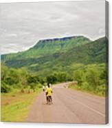 Road In Khondowe, Malawi Canvas Print