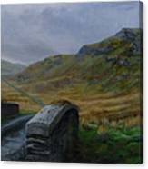 Road Over Donegal Bridge Canvas Print