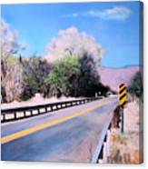 Road Over The Wash Canvas Print