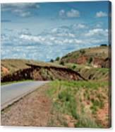 Road To Antananarivo Canvas Print
