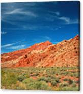 Road To Arches National Park Canvas Print