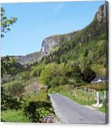 Road To Benbulben County Leitrim Ireland Canvas Print