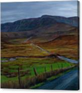 Road To Glenveagh Canvas Print
