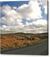 Road To Glenveagh National Park No 2 Canvas Print