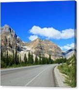 Road To Jasper Canvas Print
