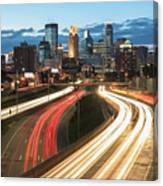 Road To Minneapolis Canvas Print