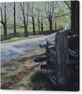Road To Phillipsville Canvas Print