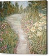 Road To Sebago Canvas Print