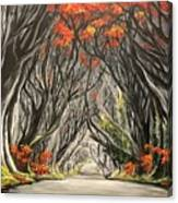 Road To The Throne Canvas Print