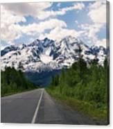 Road To Valdez Canvas Print