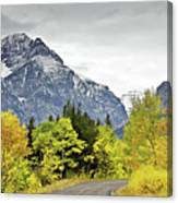 Road Too Autumn Canvas Print