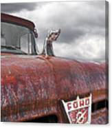 Roadkill Rat Rod Canvas Print