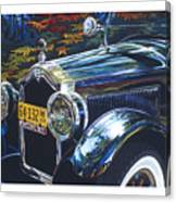 Roadmaster Canvas Print