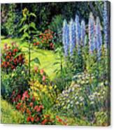 Roadside Garden Canvas Print