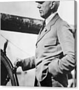 Roald Amundsen (1872-1928) Canvas Print