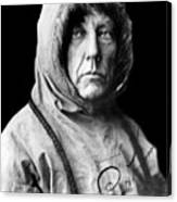 Roald Amundsen, The First Person Canvas Print