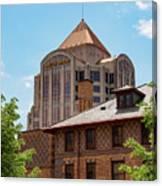 Roanoke Architecture Canvas Print