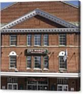 Roanoke City Market Building Canvas Print
