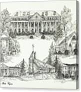 Roanoke College Canvas Print