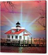 Roanoke Marshes Lighthouse, Manteo, North Carolina Canvas Print