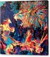 Roar Large Work Canvas Print
