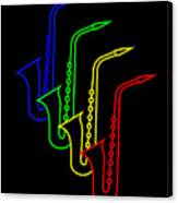 Roaring Jazz Canvas Print