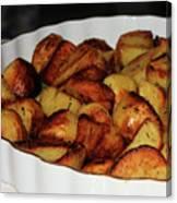 Roasted Potatoes Canvas Print