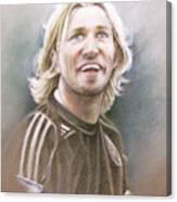 Robbie Savage Canvas Print