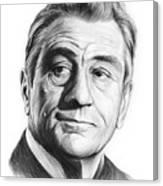 Robert De Niro 17aug18 Canvas Print