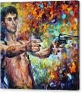 Robert Deniro From Taxi Canvas Print