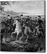 Robert E. Lee And His Generals Canvas Print