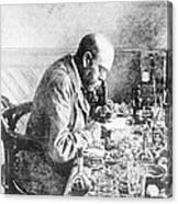 Robert Koch, German Bacteriologist Canvas Print