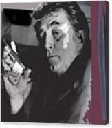 Robert Mitchum As Phillip Marlowe Neo Film Noir  The Big Sleep  1978. Canvas Print