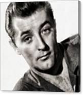 Robert Mitchum, Vintage Actor Canvas Print