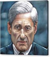 Robert Mueller Portrait , Head Of The Special Counsel Investigation Canvas Print