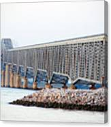 Robert O. Norris Bridge Canvas Print