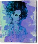 Robert Smith Cure Canvas Print