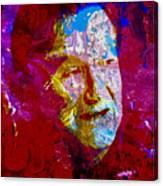 Robin Williams Paint Splatter Canvas Print
