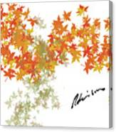 Robinson Camo Leaves Range Canvas Print