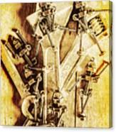 Robolts Canvas Print