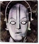 Robot From Metropolis Canvas Print