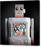 Robot R-1 Square Canvas Print