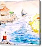 Robt E Lee Inn Jersey Shore Canvas Print